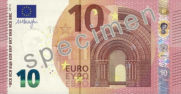 New 10 Euro Note to be Introduced