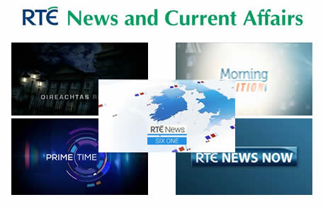 New Look RTÉ News mixed up